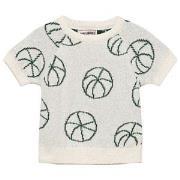 Bobo Choses Basket Ball Baby Knit Sweater Off White 18-24 mnd