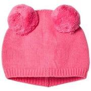 Il Gufo Pink Double Pom Pom Beanie 42 (3-6 months)