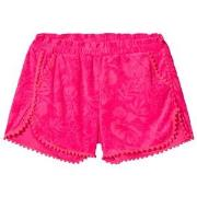 Billieblush Fuchsia Pom Pom Terry Shorts 2 years