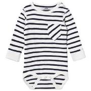 ebbe Kids Lois Baby Body Off White/Dark Navy 62 cm