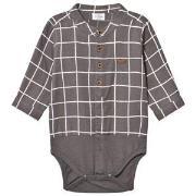 Hust&Claire Shirt Baby Body Brown 68 cm (4-6 mnd)