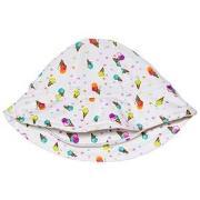 Bora Bora Kids Ice Cream Print Sun Hat White 6 mnd