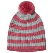 Lillelam Hat rib stripes Cerise 48/50 cm