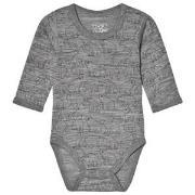 Hust&Claire Bo Baby Body Grey 56 cm (1-2 mnd)