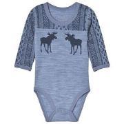 Hust&Claire Bo Baby Body Blue 56 cm (1-2 mnd)