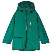Bergans Green Knkyen Insulated Ski Youth Jacket 128 cm (7-8 år)
