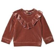Petit by Sofie Schnoor Old Rose Baby Sweatshirt 68 cm
