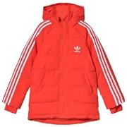 adidas Originals Red Trefoil Logo Padded Jacket 10-11 years (146 cm)
