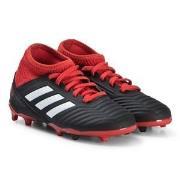 adidas Performance Black & Red Predator 18.3 Firm Ground Football Boot...