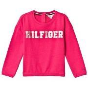 Tommy Hilfiger Pink Essential Foil Print Sweatshirt 92 (18-24 months)