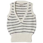 Bobo Choses Knitted Vest Egret 2-3 år