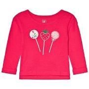 GAP Fuchsia Candy Embroidery T-Shirt 5 år