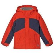 Lands' End Canyon Orange Squall Jacket 6-7 years