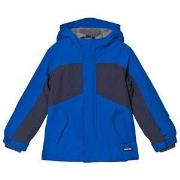 Lands' End Vibrant Sapphire Squall Jacket 4 years