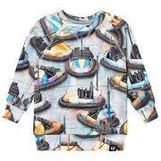Molo T-shirts LS Romeo Bumper Car 116 cm (5-6 år)