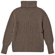 Boob Frida Knit Sweater Brown Melange S/M